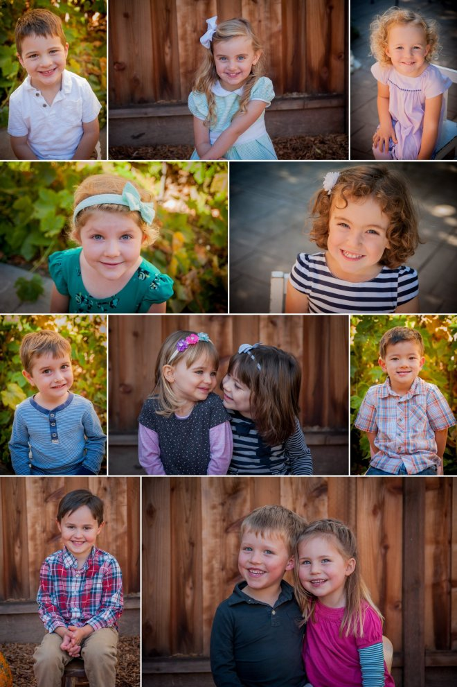 Preschool photography collage to FB